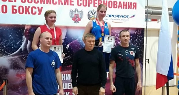 Мария Проскунова из Симферополя - победительница Всероссийских соревнований по боксу