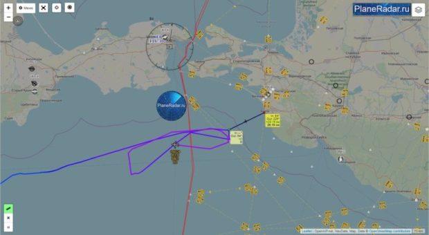 Активность авиации США у берегов Крыма значительно вырослаАктивность авиации США у берегов Крыма значительно выросла