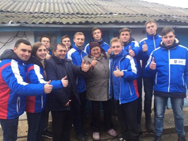 В Крыму прошла республиканская патриотическая акция «Крымский студенческий десант РСО»