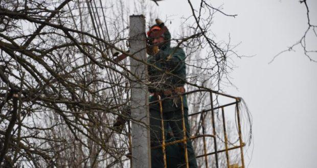 В пятницу из-за непогоды были обесточены села Белогорского района Крыма