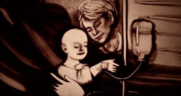 Два года без Доктора Лизы - песочная анимация Ксении Симоновой памяти Елизаветы Глинки