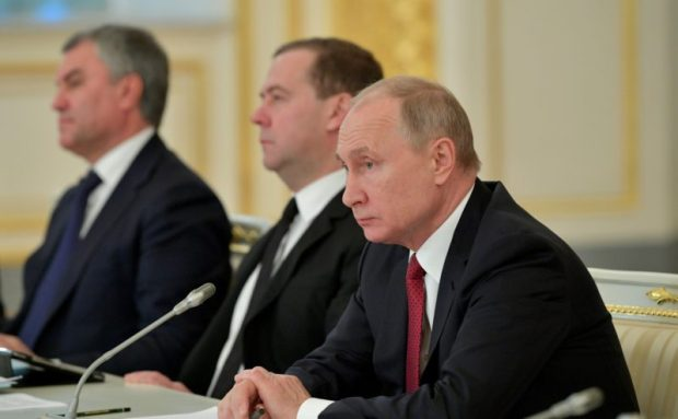 Сергей Аксёнов принял участие в заседании Госсовета РФ под председательством Владимира Путина