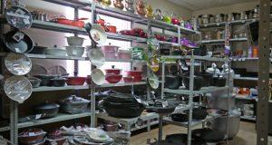 В Красноперекопске местный житель под Новый год решил… ограбить магазин посуды