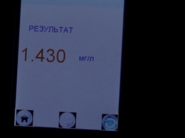 В Симферопольском районе инспекторы ДПС задержали нетрезвого водителя