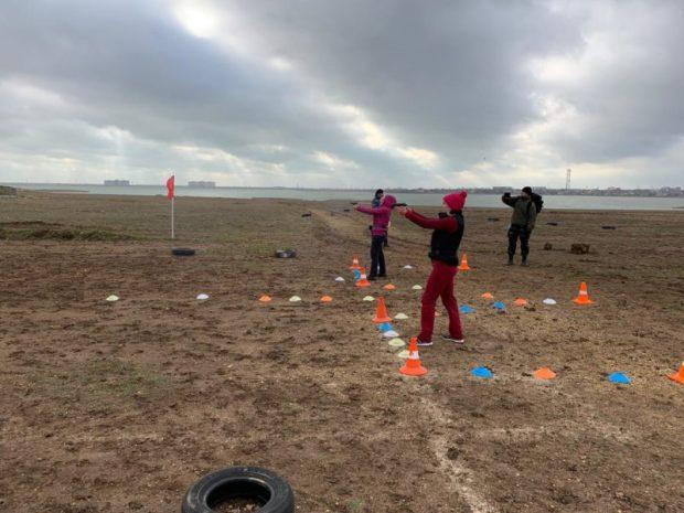 В Крыму прошли соревнования по служебному двоеборью