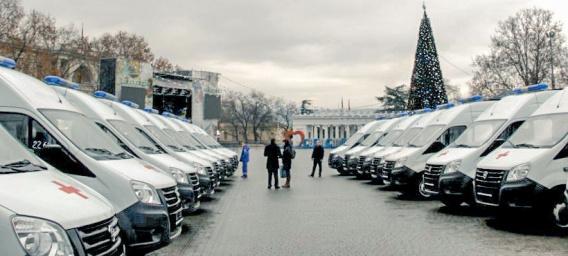 """Севастопольская """"скорая помощь"""" получила 18 новых машин"""