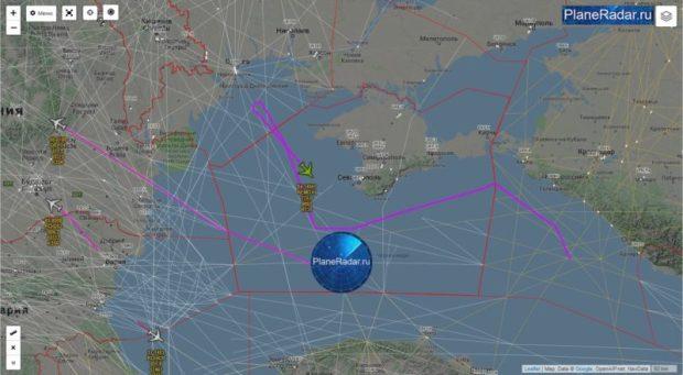 Дядя Сэм следит за тобой. Утренний и вечерний облеты Крыма самолетами ВМС США