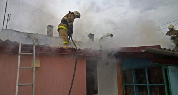 Пожар в Кировском районе Крыма: горел частный дом