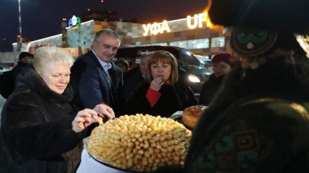Сергей Аксёнов с рабочим визитом прибыл в Республику Башкортостан