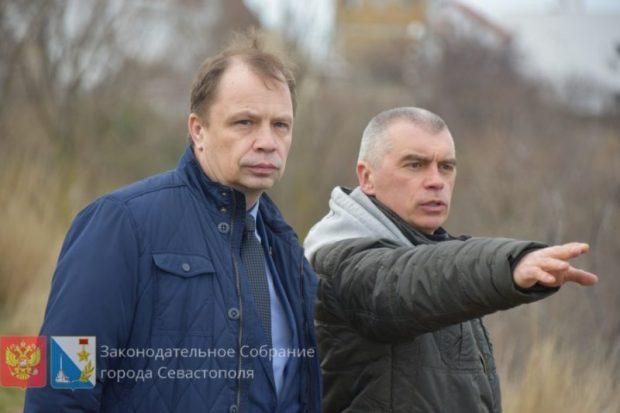 Очередной оползень в районе мыса Толстый в Севастополе