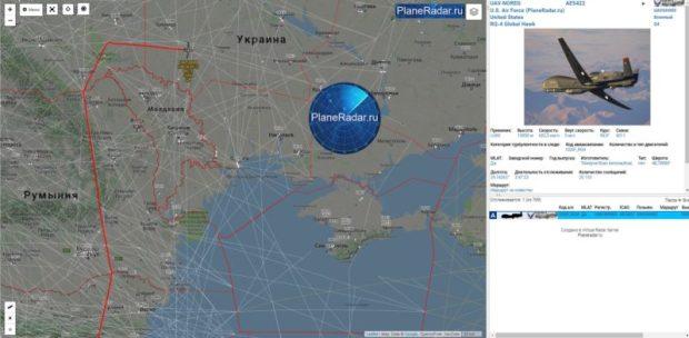 Сначала беспилотник, а затем и «знакомый» «Посейдон». Самолеты США бороздят небо вблизи Крыма