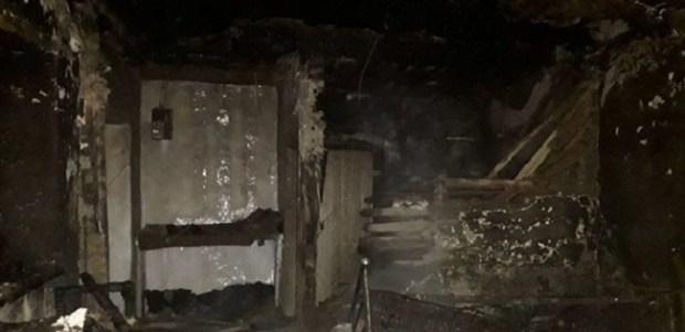 На пожаре под Судаком погибли два человека