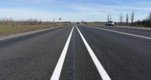 На трассе «Таврида» решили обновить дорожную разметку
