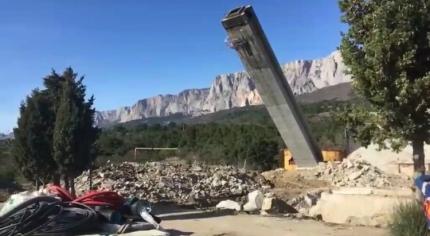В с. Оползневое построят новую пожарно-спасательную часть