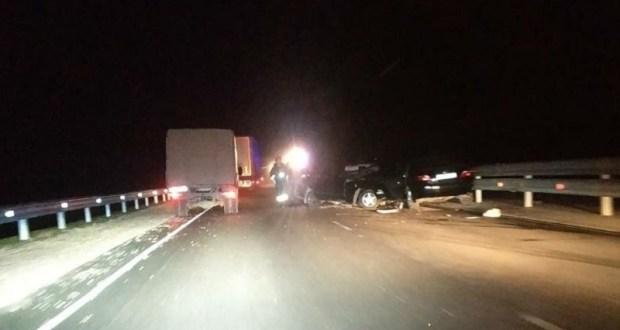В вечернем ДТП на трассе «Таврида» пострадали три человека