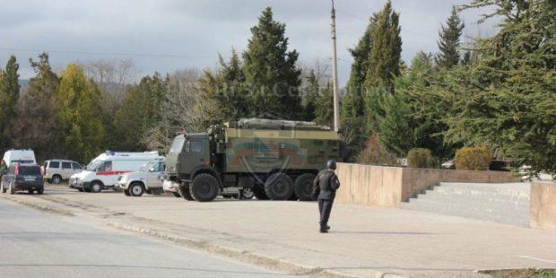 В Севастополе прошли антитеррористические учения