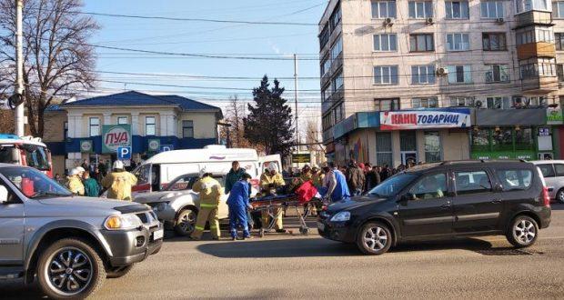 ДТП в Симферополе: возле железнодорожного вокзала сбили женщину-пешехода