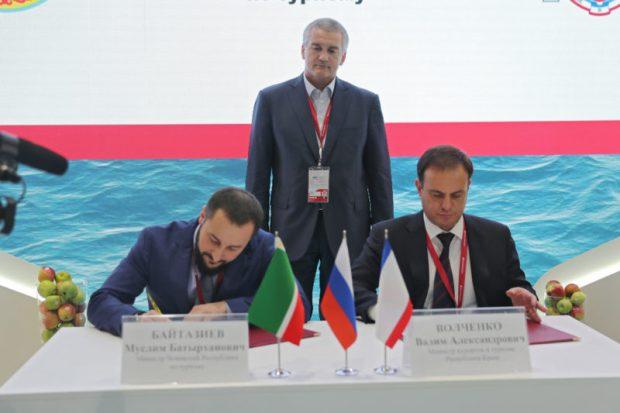 Соглашения, подписанные между Крымом и другими субъектами РФ, в Сочи