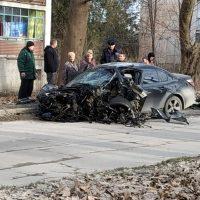 Смертельное ДТП с BMW в селе Перово, под Симферополем