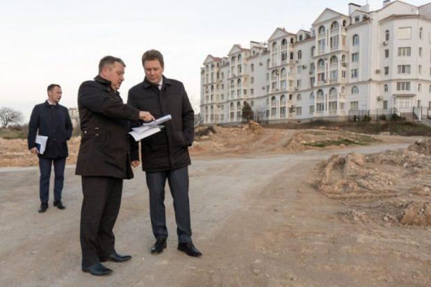 В севастопольском микрорайоне Омега появится новая сеть автомобильных дорог