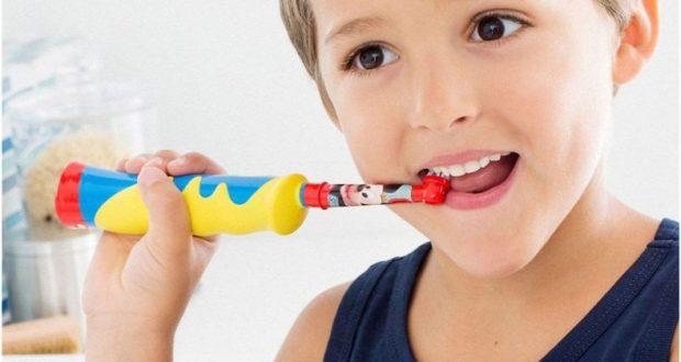Детские электрические зубные щетки Braun