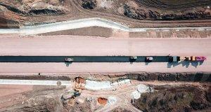 Строители трассы «Таврида» начали укладку бетона на обходе Симферополя