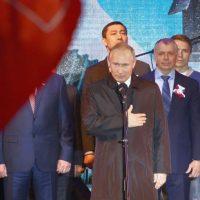 Владимир Путин поздравил крымчан с пятилетием воссоединения полуострова с Россией (+видео)