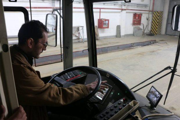 В Керчи проходит обкатка новых троллейбусов