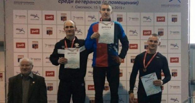 Симферополец Сергей Бейлин - двукратный чемпион России среди ветеранов
