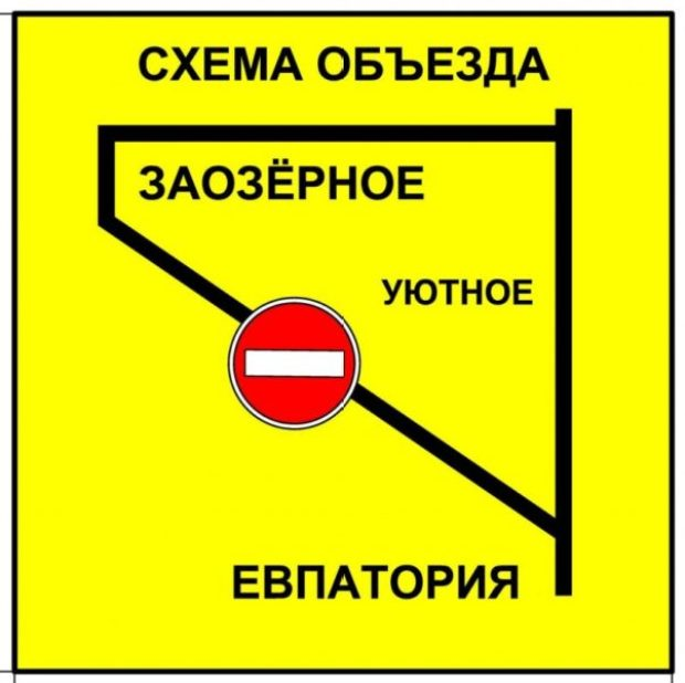 С 15 марта в Евпатории начнётся реконструкция улицы Аллея Дружбы