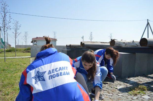 В Симферополе и в Феодосии работал молодёжный трудовой десант