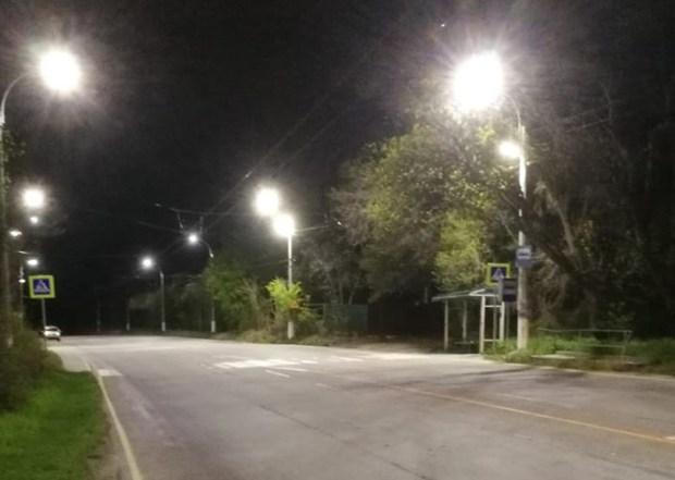 На трассе «Симферополь – Ялта» подсветили участки пешеходных переходов