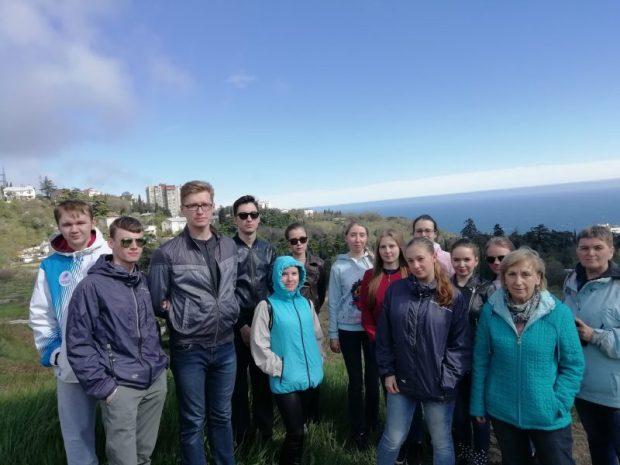 Никитский ботанический сад принимает уральских студентов