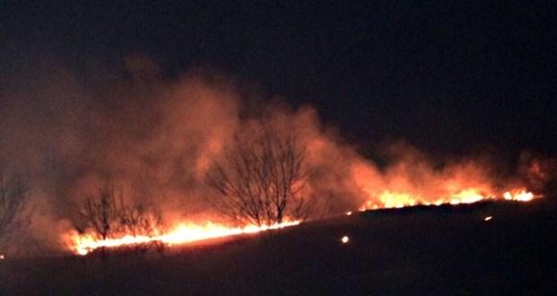 Два пожара в Крыму - сгорели 2,5 Га сухой травы