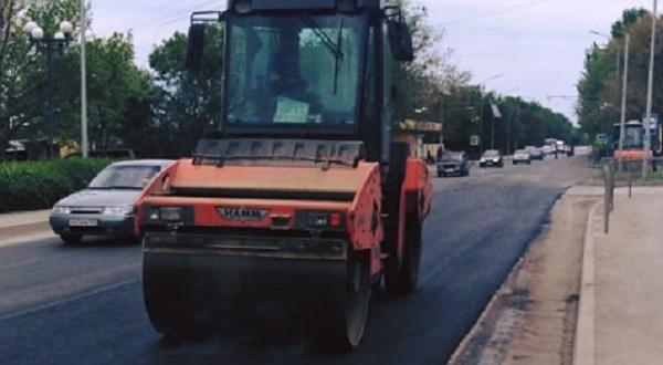 Завершен ремонт дороги на выезде из Феодосии