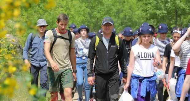 Большой слет туристов «Артека» дал старт сезону детского туризма лета 2019 года