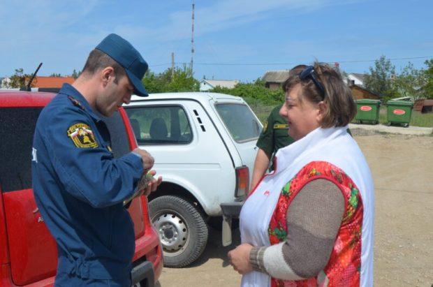 В Севастополе специалисты проводят рейды в дачном секторе