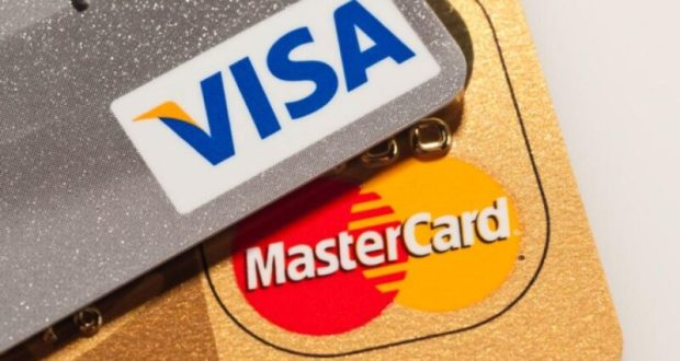 Visa и MasterCard - две самые популярные платёжные системы