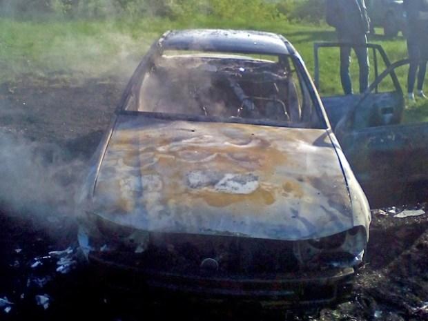 Очередной автопожар в Крыму: в Симферопольском районе сгорела «Нексия»