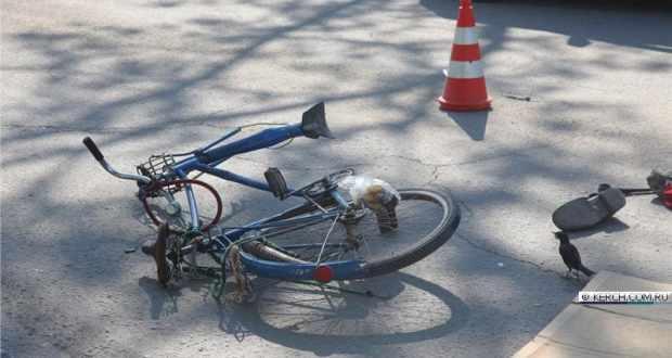 ДТП в Керчи: в центре города ВАЗ сбил велосипедиста