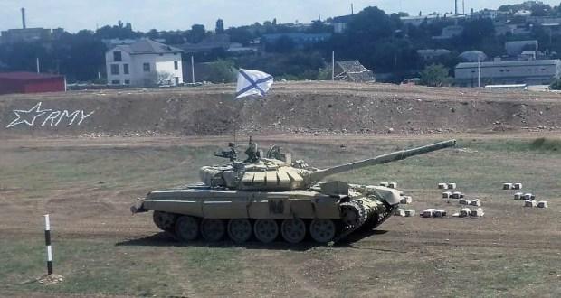 На форуме «Армия – 2019» в Севастополе отличился… женский танковый экипаж