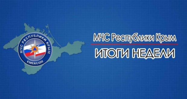 В МЧС Крыма подводят итоги недели и напоминают о чрезвычайной пожарной опасности