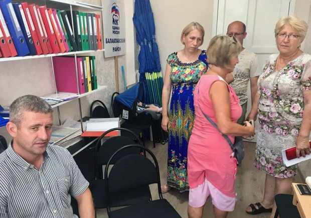 С какими проблемами люди идут к депутату? Дмитрий Голиков провел прием граждан в Балаклаве
