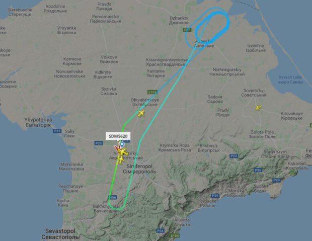 Рейс «Симферополь – Санкт-Петербург» экстренно вернулся в аэропорт