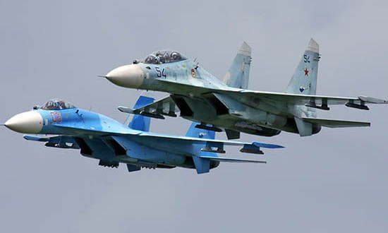 Летчики истребительной авиации ЮВО совершенствуют навыки пилотирования над Чёрным морем