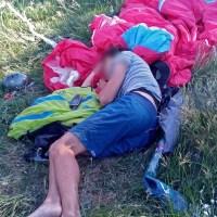 ЧП в Крыму: упал парапланерист. Спасательная операция длилась 5 часов