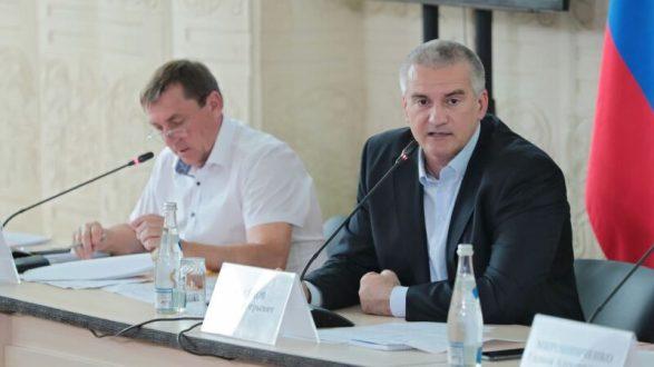 Сергей Аксёнов провёл выездное совещание по проблемным вопросам Сакского района