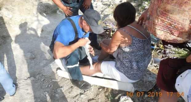 Будни «КРЫМ-СПАС»: помощь в районе пещерного города Чуфут-Кале