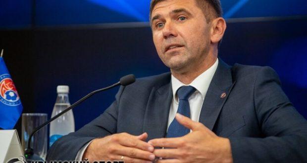 Юрий Ветоха - снова президент Крымского футбольного союза