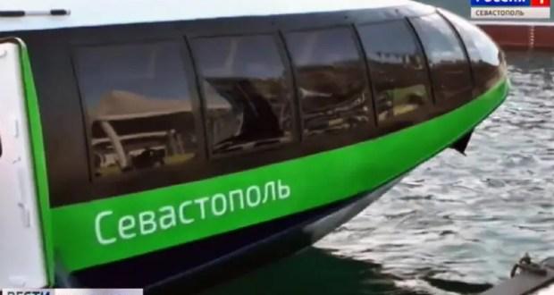 «Комета» на морской линии «Севастополь – Ялта» за 2 летних месяца перевезла 20 тысяч пассажиров